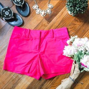 Ann Taylor Hot Pink Shorts